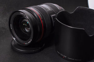 Canon 24-70 mm f2.8 L and 70-200 mm f2.8 L