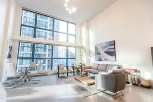 Yaletown Loft for Rent - 900 SQ ft. 1 BR/1 Bath