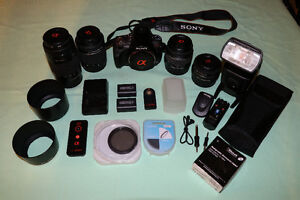 Sony a330 DSLR with lots of extras!