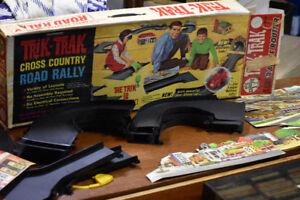 VINTAGE 1964 Trik Trak Cross Country Road Rally Set