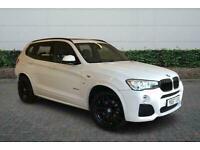 2017 BMW X3 xDrive35d M Sport 5dr Step Auto Estate Automatic Estate Diesel Autom