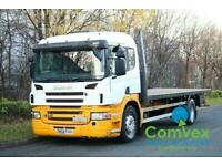 SCANIA P230 4X2 24FT STEEL FLATBED (2008)
