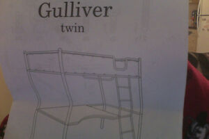 Gulliver Twin Bunk bed Blue