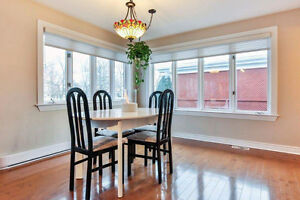 Table de cuisine avec 6 chaises