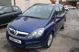 Best Seller Vauxhall Zafira 7 Seater 1.6I 16V CLUB