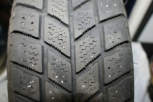 4 winter tires size 175/70 R14 on rims