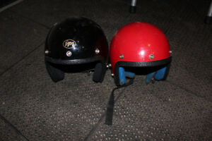 Youth Medium and youth small motorcycle helmets