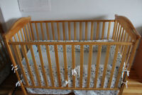 Baby crib in Excellent condition - for sale
