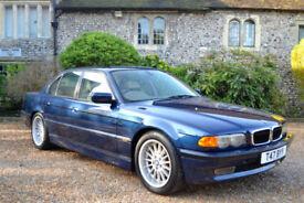 BMW 740 4.4 Auto i, 62K MILES, FULL S/HISTORY, DEC MOT, £10K OF FACTORY EXTRAS