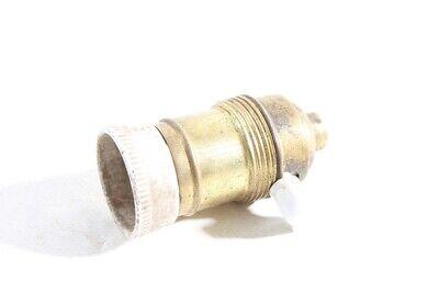 Old Lamp Socket E27 Socket Brass Lamp Light Old Vintage With