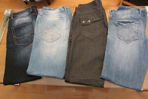4 pairs of brand new men's jeans for $95
