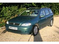 AUTOMATIC ESTATE Vauxhall Astra 1.6 Club done 123236 Miles with MOT til 28.07.17