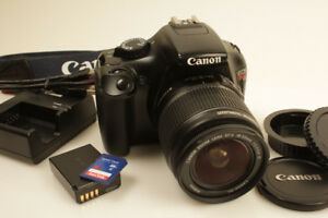 Canon EOS Rebel T3 DSLR Camera with 18-55mm f/3.5-5.6 IS II Lens