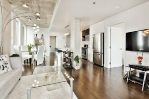 Gorgeous & new 4 1/2 condo with views of the old port