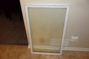 glass door insert 22x36