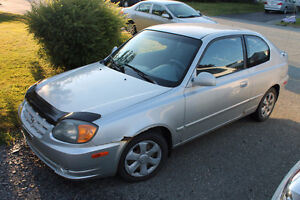 2004 Hyundai Accent GS Coupe (2 door)