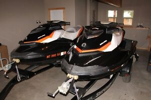 2011 Sea Doo GTI SE155 Personal Watercraft (1 or 2) with Trailer