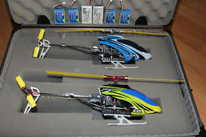 Pair of  Blade 130x RC Helicopters