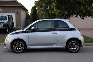 2012 Fiat 500 SPORT Coupe (2 door)