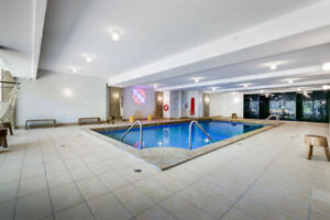DOWNTOWN Tout inclus avec piscine, gym, study room