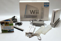 WII CONSOLE WITH WII SPORTS - LIKE NEW, WITH BOX