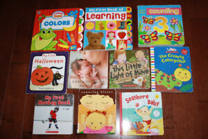 10 Assorted Toddler Books