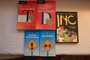Dictionaries and English Guides - See list for price