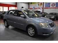 2004 04 TOYOTA COROLLA 1.6 T3 COLOUR COLLECTION VVT-I 5D 109 BHP