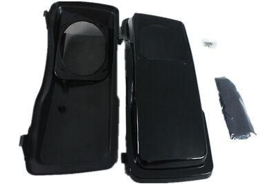 Unpainted CVO Hard saddlebag 6*9 speaker lids fit for 93-13 Harley Davidson