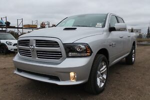 2016 RAM 1500 SPORT CREW CAB WE HAVE A GREAT SELECTION! 17R17296