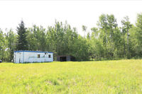 Recreational 1/4 bordering crown land near Athabasca/Perryvale