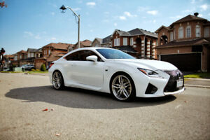 Lexus RCF With Very Low Km and Extended Warranty