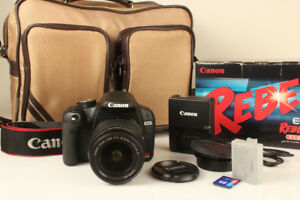 Canon EOS Digital Rebel T1i 15.1 MP DSLR w/EF-S 18-55mm IS Lens