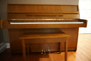 Kawai CX-4 Vertical Piano, Made in Japan. Compact & High Quality