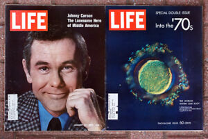 Lot of 26 LIFE Magazines from 1970
