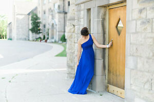 Royal Blue Gown (Perfect for prom)