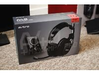Astro a40 Gaming Headset with mixamp/stand