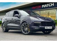 2017 Porsche Cayenne V8 TURBO S TIPTRONIC S SUV Petrol Automatic