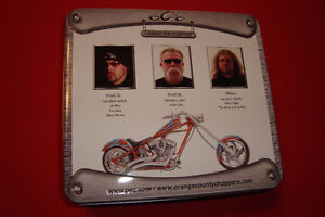 Orange County Choppers Pez Limited Edition Gift Tin Kingston Kingston Area image 2