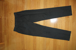 2 pairs grey dress pants and a new non iron white shirt