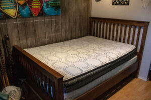 Double / Full Bed Set (Frame, Mattress, Box Spring)
