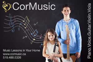 Music Lessons In Your Home from the Best Teachers in London London Ontario image 1