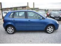 Volkswagen Polo 1.2 ( 70PS ) 2008MY Match 5 DOOR+BLUE