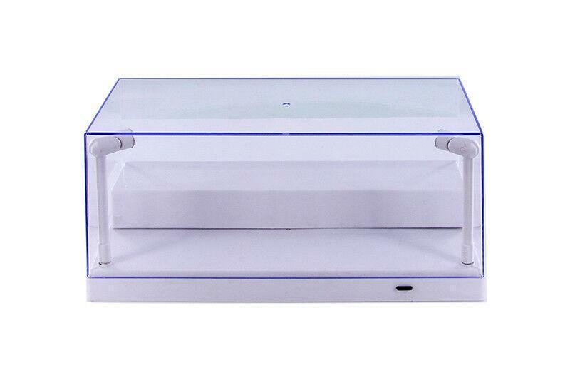 Diecast Model Car Acrylic LED Lighted Display Case 1/24, 1/4