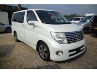 NISSAN ELGRAND 2005, 2.5 PETROL, AUTOMATIC IN PEARL WHITE