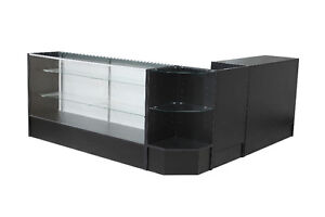 showcase/ glass case/display case/ dispensary case, store fixtures, displays, glass display, cheap displays, sale displa