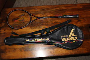 New pro kennex micro dominator Squash Racket with case & balls