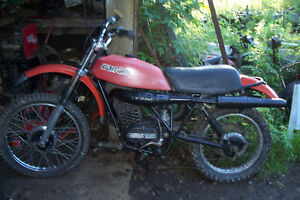 Vintage 1978 Can-Am 125 Fun machine ,and 1974 175 tnt parts