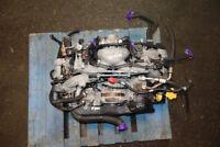 JDM Subaru Impreza non Turbo Engine Motor Available ej25 2.5L