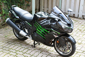 ZX14R MRA windshield touring